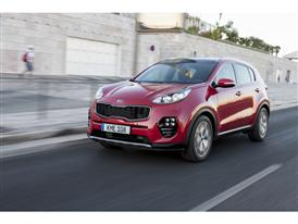 New Sportage Exterior Dynamic Front 01