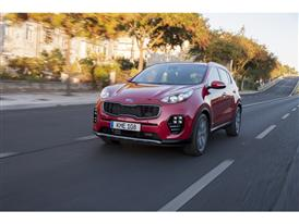 New Sportage Exterior Dynamic Front 03