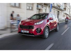 New Sportage Exterior Dynamic Front 04