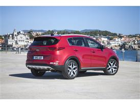 New Sportage Exterior Dynamic Rear 04