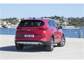 New Sportage Exterior Static 06