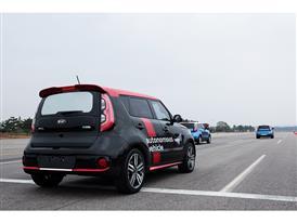 Kia Autonomous Driving Soul EV (2)