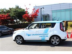 Kia Autonomous Driving Soul EV (3)