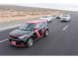 Kia Soul EV Autonomous Vehicle Group