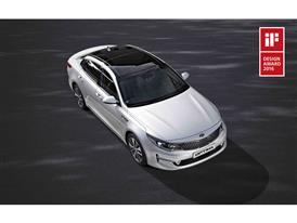 Kia Optima wins iF Award 2016