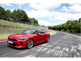 Kia Stinger at Nurburgring 3