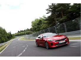Kia Stinger at Nurburgring 2