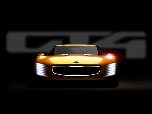 KIA NAIAS CONCEPT - GT4 STINGER