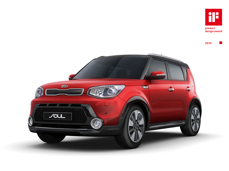Kia Soul if Product Design Award (Europe market spec SUV Styling Pack)