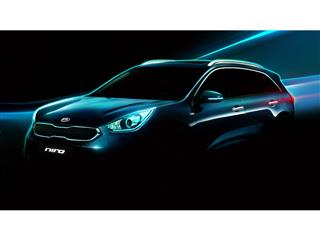 Kia Reveals First Images of All-New Niro Hybrid Utility Vehicle