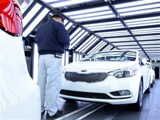 Kia Cuts Environmental Impact of Car Manufacturing