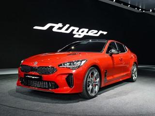 Kia Stinger makes Asian debut at Seoul Motor Show