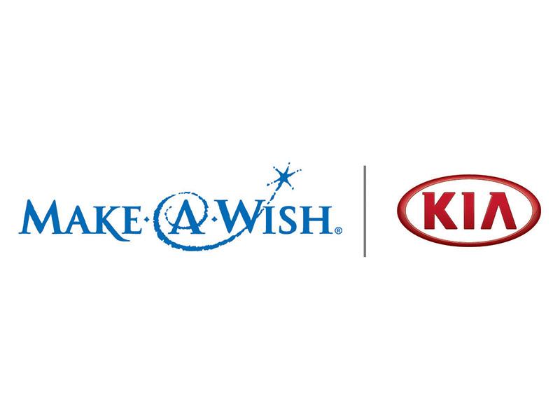 Kia and Make A Wish Composite Logo