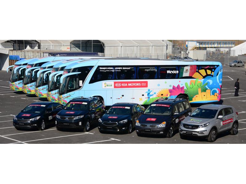 Kia Vehicle Handover for 2014 World Cup