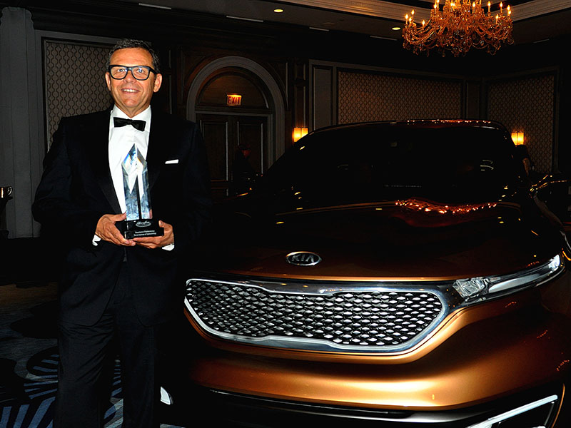 Kia Motors_Peter Schreyer EOD Lifetime Achievement Award