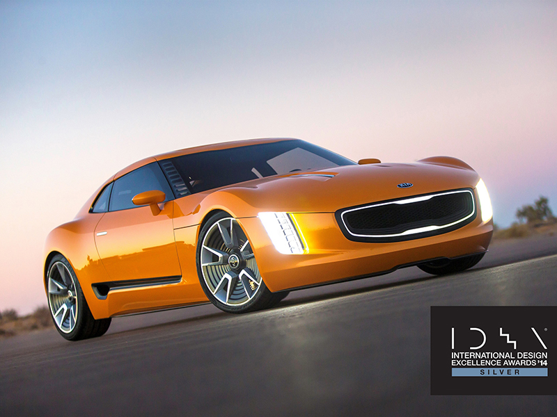 Kia GT4 Stinger Concept Car IDEA Silver Award