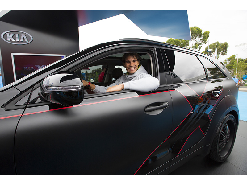 Nadal and the Kia X-Car_1