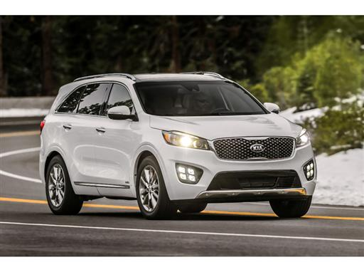 Kia Sorento SXL (US specification)_front