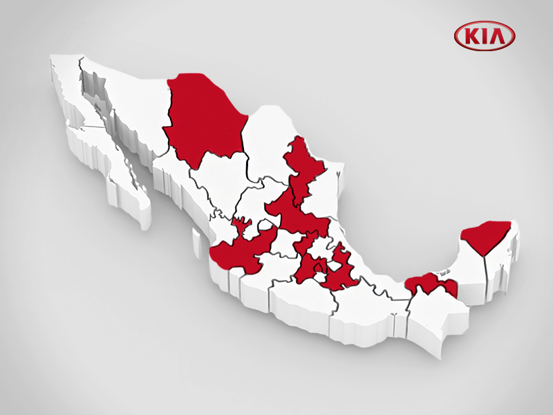 Kia Motors holds official brand launch ceremony in Mexico 1