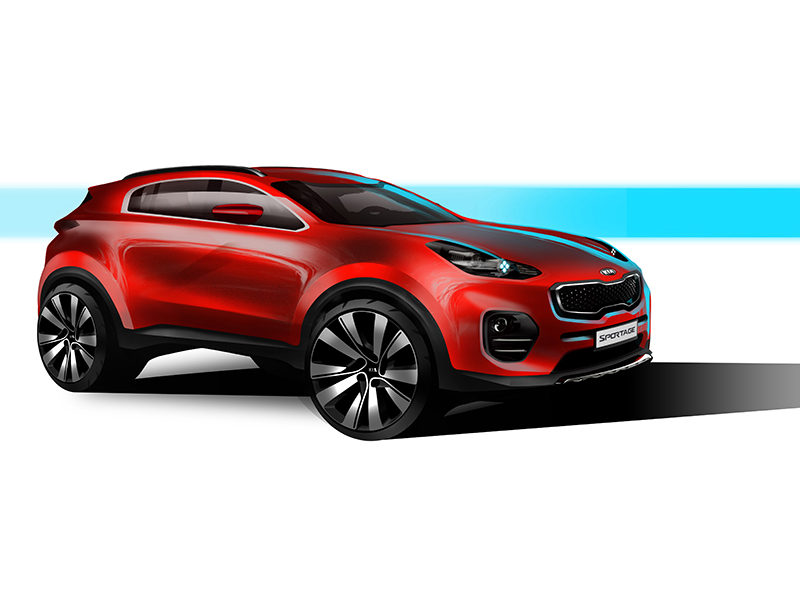 Next Generation Kia Sportage 1