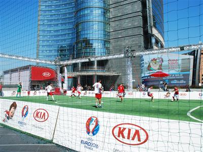 Kia brings fans closer to UEFA EURO 2016™ with five-a-side tournament and new social media campaign