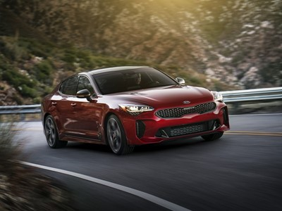 2018 Kia Stinger Makes World Debut at North American International Auto Show