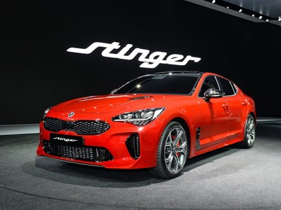 Kia Stinger makes Asian debut at Seoul Motor Show