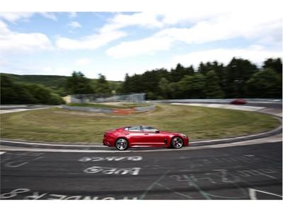 Kia Stinger at Nurburgring 4