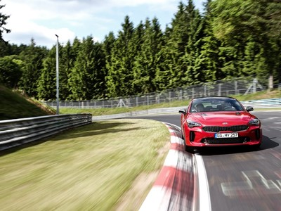 Rigorous test and development regime for Kia Stinger