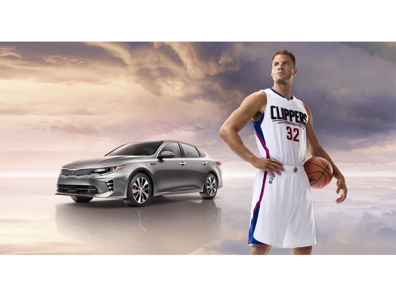 Blake Griffin Kia Optima