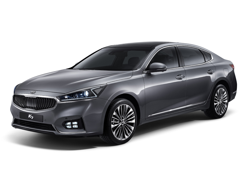 All-New Kia Cadenza (K7) Front Quarter
