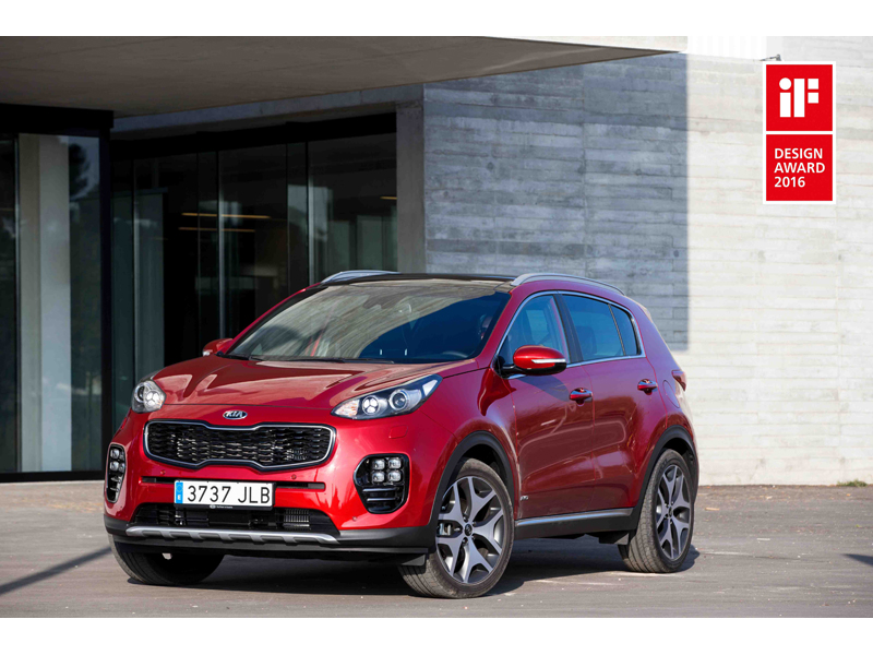 Kia Sportage wins iF Award 2016