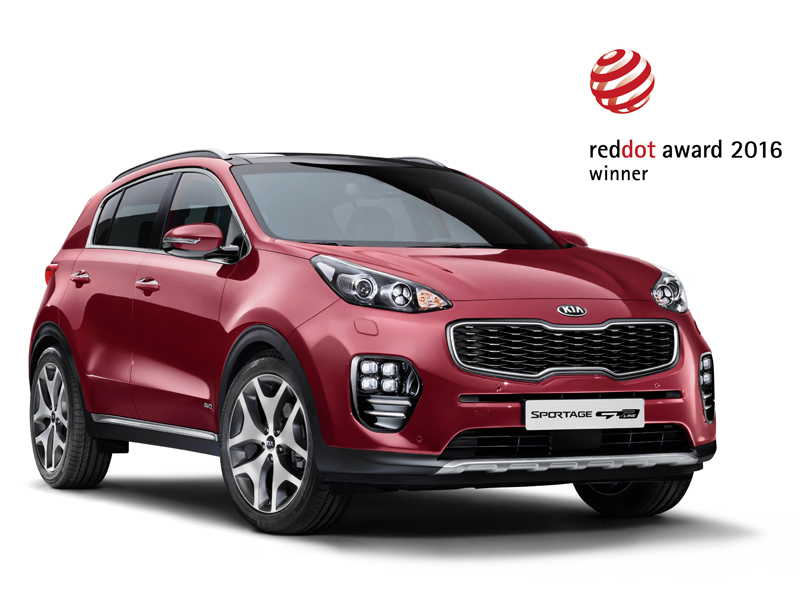 Kia Sportage 2016 Red Dot Winner