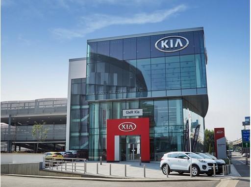 Kia unveils its biggest European dealership in London