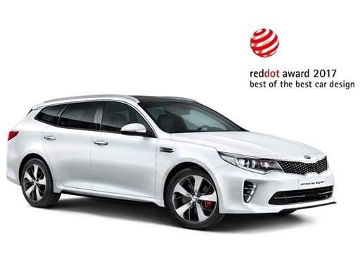Kia Optima Sportwagon 2017 Red Dot Award