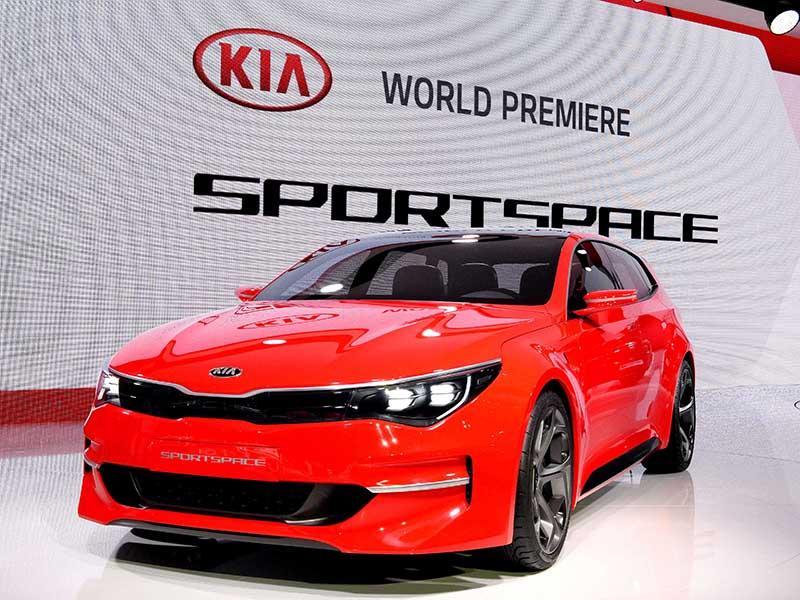 Kia unveils sportspace concept and for Kia motors latest models