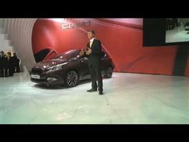 Kia Motors Press Conference at Geneva Motor Show