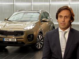 Artur Martins, VP Marketing, KME on the all new Kia Sportage