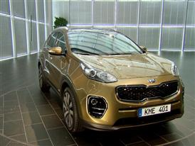 The all new Kia Sportage