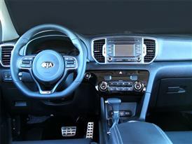 Sportage GT Line Interior