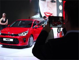 Kia Motors Europe Booth Paris Motor Show 2016