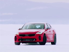Kia Stinger Winter Testing