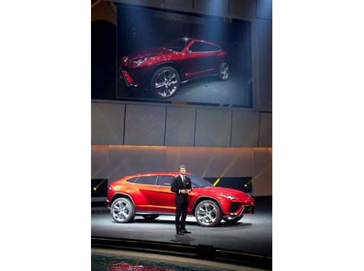 Stephan Winkelmann, President and CEO of Lamborghini and the New Lamborghini