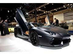 Stephan Winkelmann, President and CEO of Automobili Lamborghini at 2012 Qatar Motor Show