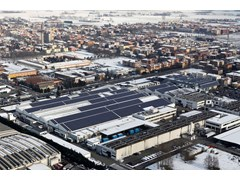 Automobili Lamborghini reduces its factory CO2 emissions by 30%