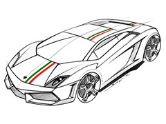 """Lamborghini celebrates 150th anniversary of the Unification of Italy with the launch of Special Edition Gallardo Tricolore"""