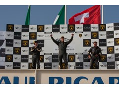 Andrea Amici claims win in hot & eventful Lamborghini Blancpain Super Trofeo race at Paul Ricard