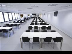 Inaugurato il nuovo ristorante aziendale dello stabilimento produttivo della monoscocca in carbonio della Lamborghini Aventador