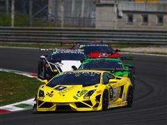 Andrea Palma wins in Race One at Monza opener for Lamborghini Blancpain Super Trofeo Europe