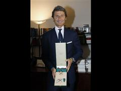 Stephan Winkelmann appointed Knight Grand Cross by the President of the Italian Republic, Giorgio Napolitano